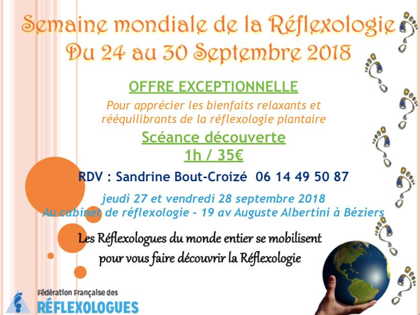 réflexologie semaine mondiale